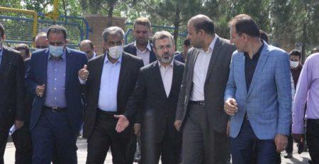 بازدید دکتر جمالی پور استاندار قزوین از کارخانه مکرر
