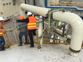 رزین پلی استر در تجهیزات انتقال مواد