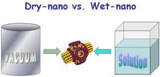 نانوتکنولوژی خشک و مرطوب